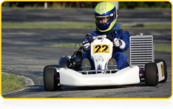 Michael Johnson - MJDrive Super Kart Challenge